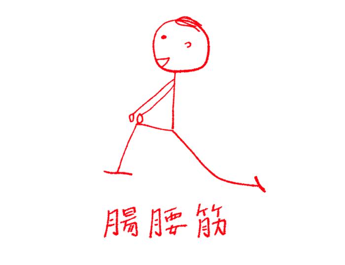 腸腰筋ストレッチ